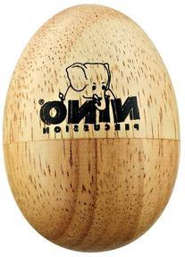 Nino Percussion NINO562 Natural Wood Egg Shaker, Small