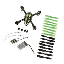 niceEshop FPV Quadcopter Spare Parts Crash Pack for Hubsan