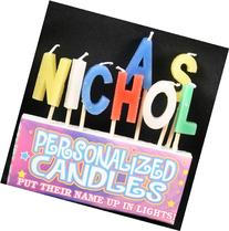 Nicholas Letter Shaped Birthday Candles
