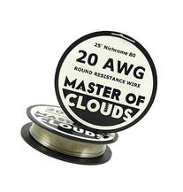 Nichrome 80 - 25 ft 20 Gauge AWG Resistance Wire 0.81mm 20g