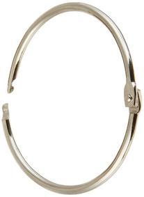 """School Smart Nickel Plated Loose Leaf Ring, 2"""" Diameter"""