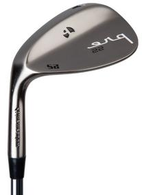 Pinemeadow Golf Pre Nickel Wedge, Left Hand, Steel, Regular