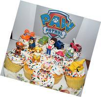 Nickelodeon PAW Patrol Figure Set of 12 Deluxe Mini Cake