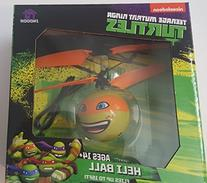 Nickelodeon Teenage Mutant Ninja Turtle Heli Ball Orange