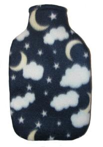 Warm Tradition Night Sky Fleece Hot Water Bottle Cover -