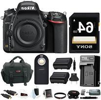 Nikon D750 FX-format Digital SLR Camera  with 64 GB Deluxe