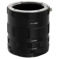 Fotodiox Nikon Macro Extension Tube Kit for Nikon Cameras,