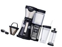 Ninja Coffee Bar Brewer with 43 oz. Glass Carafe with extras
