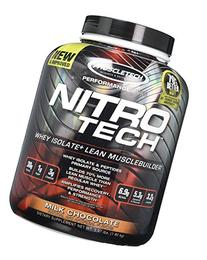 MuscleTech NitroTech Protein Powder, Whey Isolate + Lean