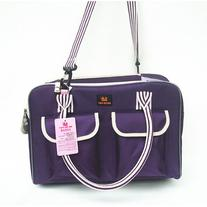 petsmartpm NL311 Purple Oxford Pet Carrier Bag Dog Tote Bag