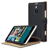 Nokia Lumia 1520 Low Profile Faux Leather Wallet Case with