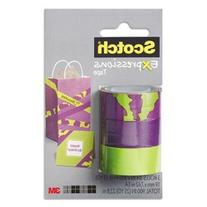 "3M NOM046861 Scotch Expressions Tape Removable 3/4"" x 300"","