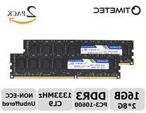 Timetec Hynix IC 16GB Kit  DDR3 1333MHz PC3-10600 Unbuffered