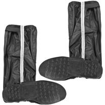1 Pair Unisex Non Slip Double Sealed Zippered Riding Velcro