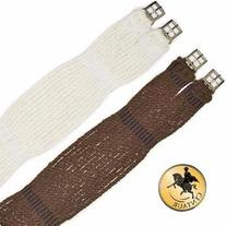 Centaur Non-Slip Mohair Corded Girth Natural, 36