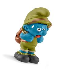 Schleich North America Tired Jungle Smurf Toy Figure