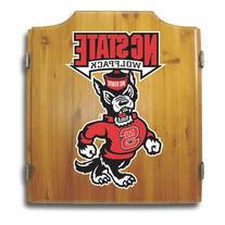 North Carolina State Dart Cabinet includes Darts and Board