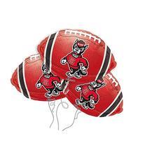 North Carolina State Logo College Football Mylar Balloon 3