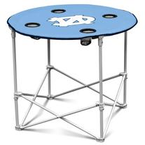 North Carolina Tarheels Collapsible Round Table with 4 Cup