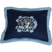 College Covers North Carolina Tar Heels Printed Pillow Sham