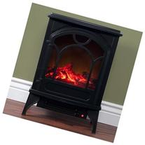 Northwest Free Standing Classic Electric Log Fireplace 16 x