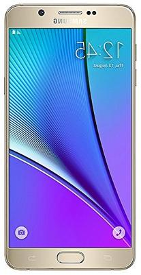 Samsung Note 5 Unlocked Sprint/GSM, Gold, 32GB