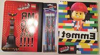 LEGO Movie Notebook and Pencil Bundle