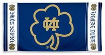 Notre Dame Fighting Irish Beach Bath Towel