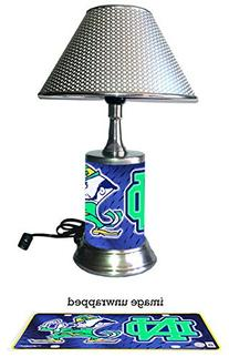 Notre Dame Lamp with chrome shade