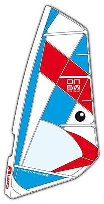 BIC Sport Nova Complete Windsurfing Rig, Red/White/Blue, 3