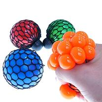 Novelty Squeezing Cute Soft Rubber Vent Grape Ball