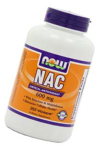NOW Foods Nac-Acetyl Cysteine 600mg, 750 Vcaps