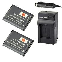 DSTE® 2x NP-150 Battery + DC16 Travel and Car Charger