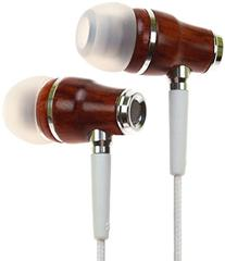 Symphonized Nrg Premium Wood Noise-Isolating Headphones with