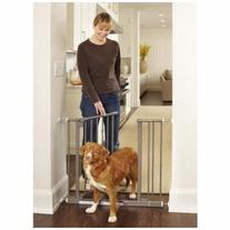 North States NS4915 Easy-Close Pressue Mounted Steel Gate 28