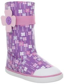Natural Steps nss504 Boot ,Purple/Pink,4 M US Big Kid