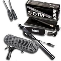 Rode NTG-3 Precision Broadcast Grade Cardioid Microphone w/