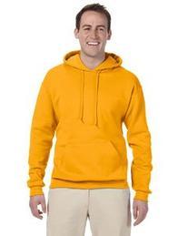 Jerzees Adult NuBlend® Hooded Pullover Sweatshirt - Gold -