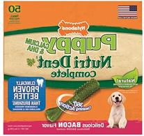Nutri Dent Puppy Bacon Flavor  50 Pantry Pack