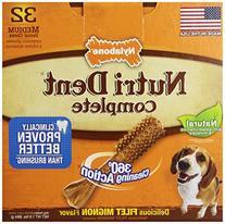 Nutri Dent Limited Ingredient Dental Dog Chews, Medium