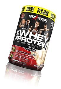 Six Star Pro Nutrition Elite Series Whey Protein Powder,