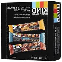 Nuts Spices Variety Pack Snack Bars 12 Pack