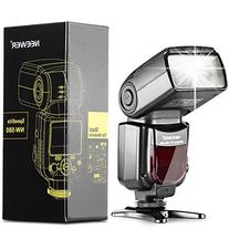 Neewer NW580 Manual Flash Speedlite with LCD Display for