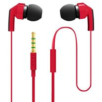 Incipio NX-302 F80 Hi Fi Stereo Earbuds - Red/Black
