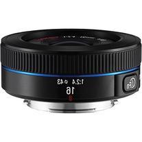 Samsung NX 16mm f/2.4 Camera Lens  - Fixed