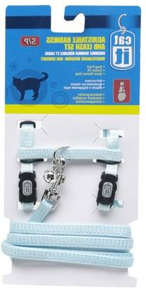 Catit Nylon Adjustable Cat Harness and Leash Set, Small,