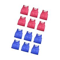 Nylon Mesh Scrimmage Team Practice Vests Pinnies Jerseys for