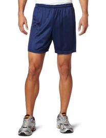 Soffe Men's Nylon Mini-Mesh Short Navy Large