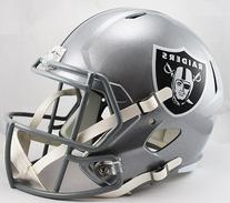 Oakland Raiders Riddell Full Size Speed Deluxe Replica