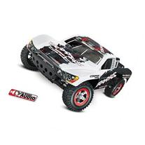 Traxxas Oba Slash 2Wd White Rtr, W/ On Board Audio, Radio,